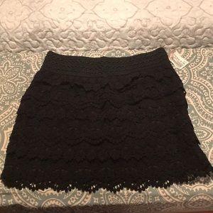 NWT American Rag black skirt